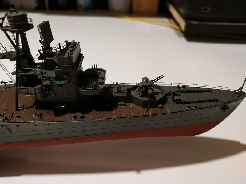 IJN Isuzu Light Cruiser a 1/350 de Aoshima Img_2453
