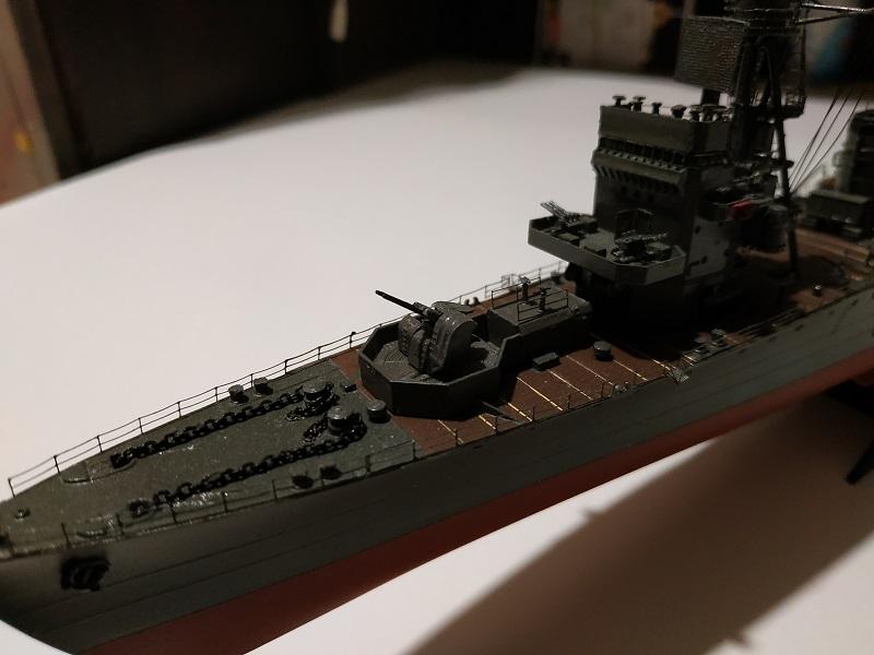 IJN Isuzu Light Cruiser a 1/350 de Aoshima Img_2456