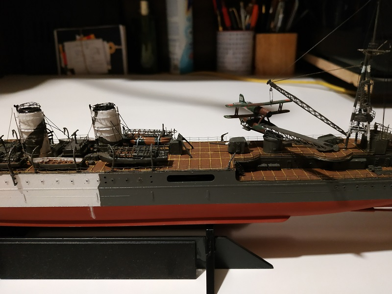 IJN Light Cruiser Tama a 1/350 de Aoshima Img_2486