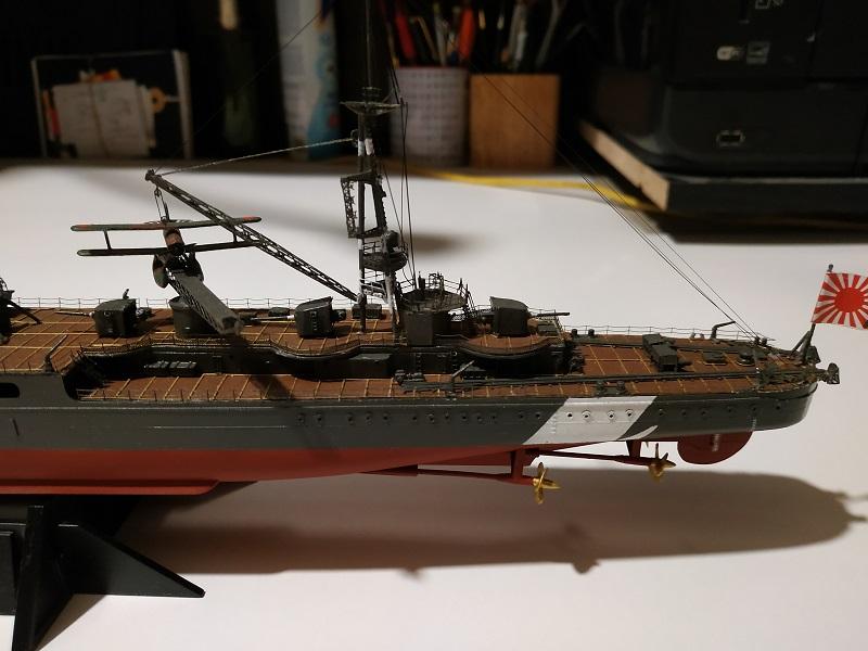 IJN Light Cruiser Tama a 1/350 de Aoshima Img_2487