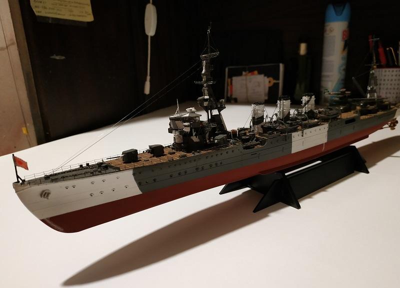 IJN Light Cruiser Tama a 1/350 de Aoshima Img_2489
