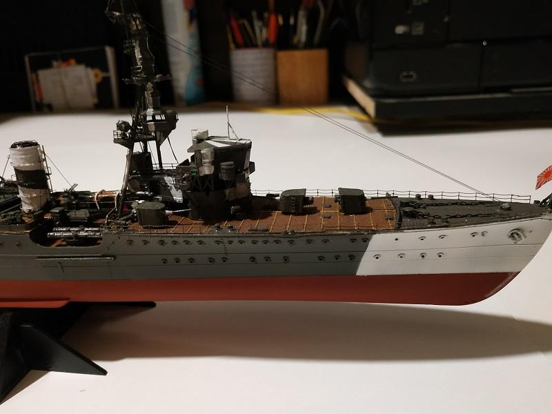 IJN Light Cruiser Tama a 1/350 de Aoshima Img_2494