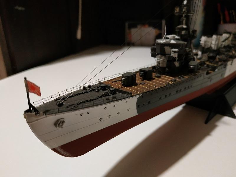 IJN Light Cruiser Tama a 1/350 de Aoshima Img_2501