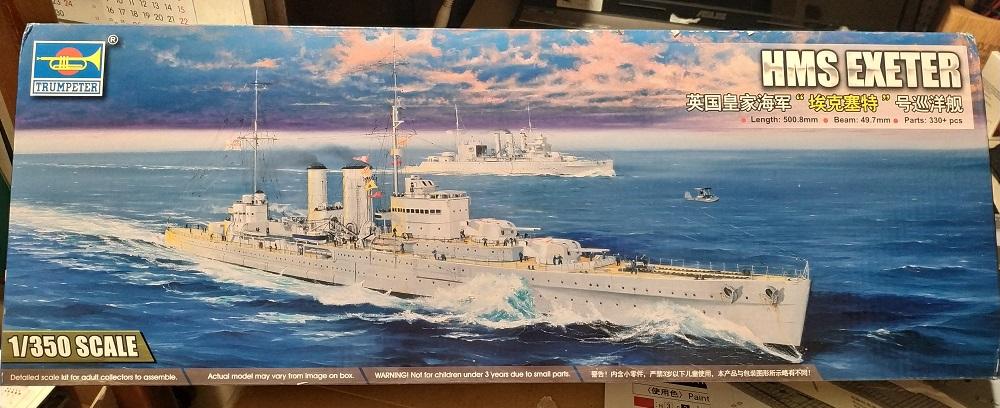 HMS Exeter a 1/350 de Trumpeter Img_2522