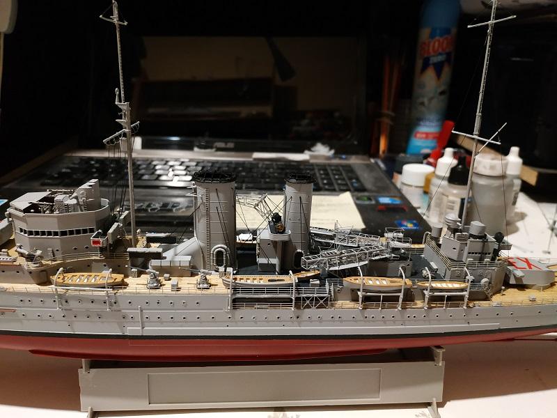 HMS Exeter a 1/350 de Trumpeter Img_2524