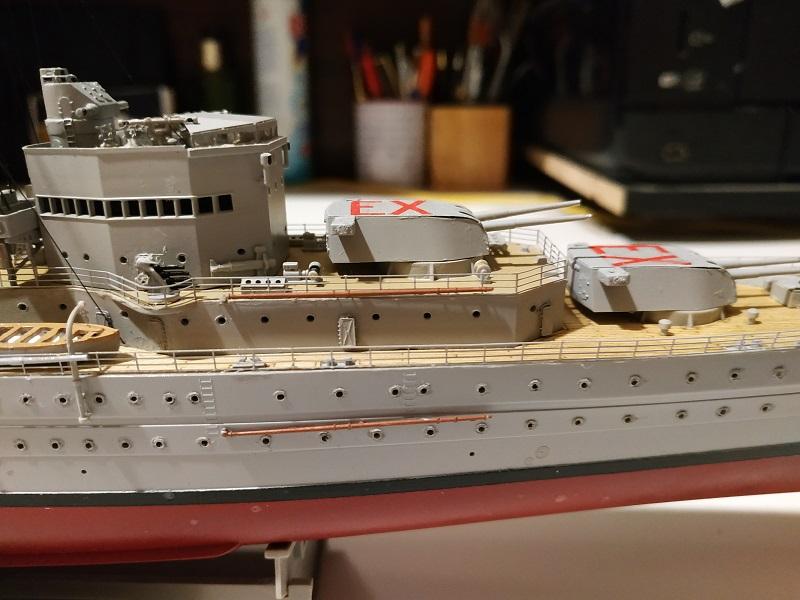 HMS Exeter a 1/350 de Trumpeter Img_2531