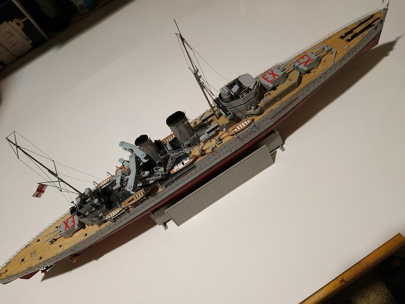 HMS Exeter a 1/350 de Trumpeter Img_2532