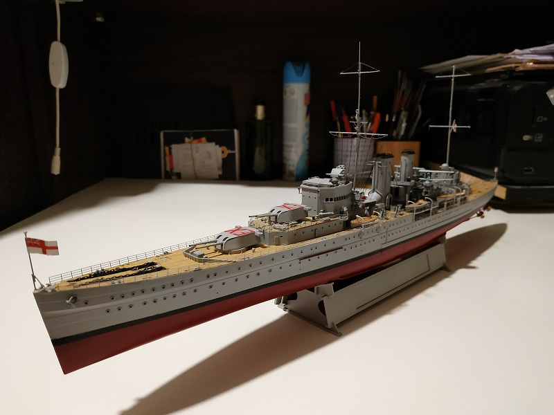 HMS Exeter a 1/350 de Trumpeter Img_2533