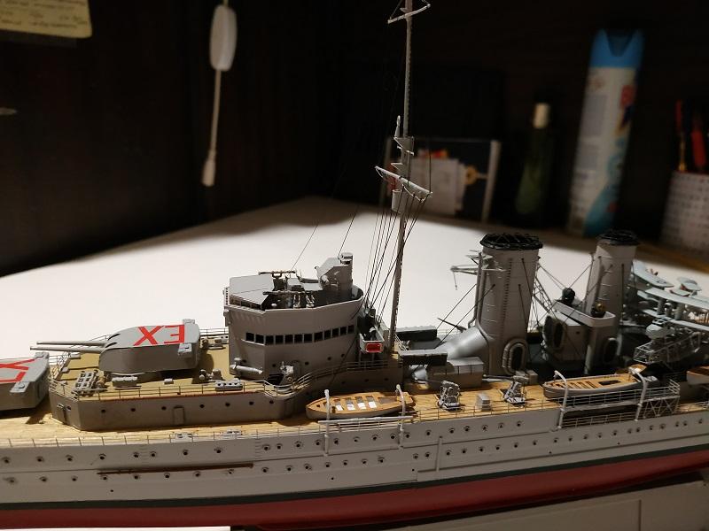 HMS Exeter a 1/350 de Trumpeter Img_2535