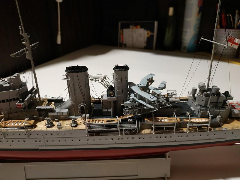 HMS Exeter a 1/350 de Trumpeter Img_2536