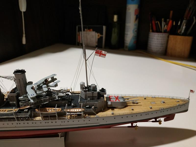 HMS Exeter a 1/350 de Trumpeter Img_2537