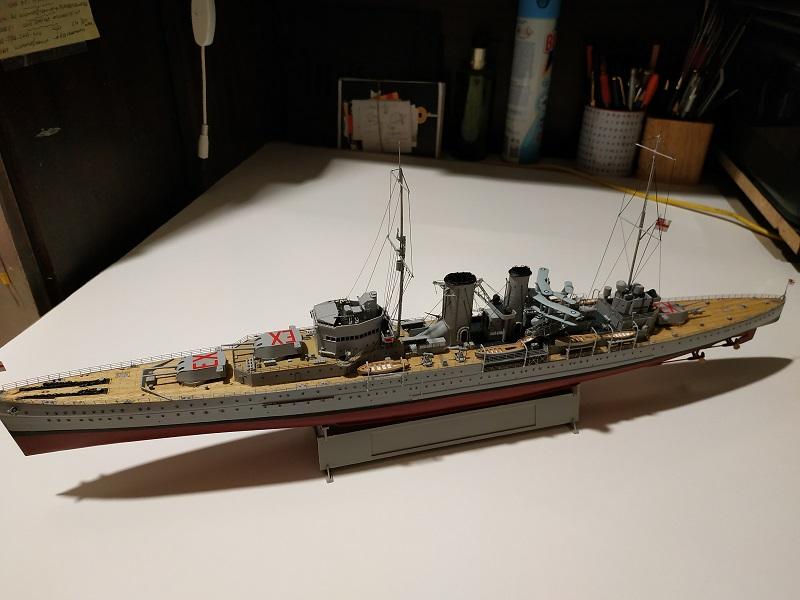 HMS Exeter a 1/350 de Trumpeter Img_2538