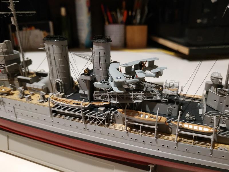 HMS Exeter a 1/350 de Trumpeter Img_2540