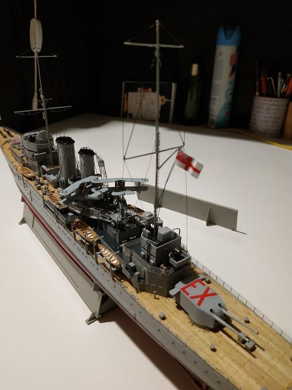 HMS Exeter a 1/350 de Trumpeter Img_2541