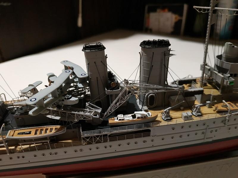 HMS Exeter a 1/350 de Trumpeter Img_2543