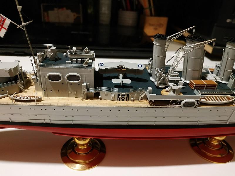 HMS Cornwall Croiseur Pesant 1/350 de Trumpeter Img_2548