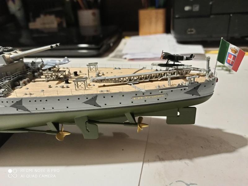 Regia Marina Littorio 1941 (Trumpeter 1/350°) de amoraga Img_2633