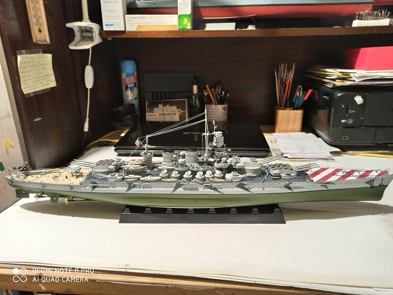 Regia Marina Littorio 1941 (Trumpeter 1/350°) de amoraga Img_2634