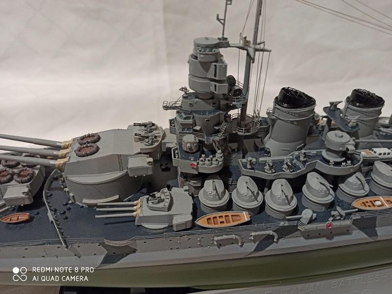 Regia Marina Littorio 1941 (Trumpeter 1/350°) de amoraga Img_2663
