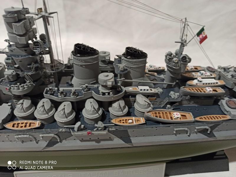 Regia Marina Littorio 1941 (Trumpeter 1/350°) de amoraga Img_2664