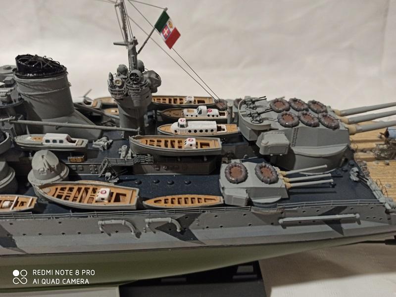 Regia Marina Littorio 1941 (Trumpeter 1/350°) de amoraga Img_2665