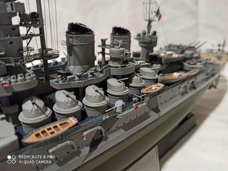 Regia Marina Littorio 1941 (Trumpeter 1/350°) de amoraga Img_2677