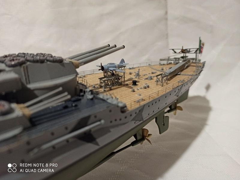 Regia Marina Littorio 1941 (Trumpeter 1/350°) de amoraga Img_2680