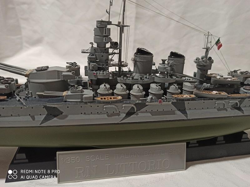 Regia Marina Littorio 1941 (Trumpeter 1/350°) de amoraga Img_2684