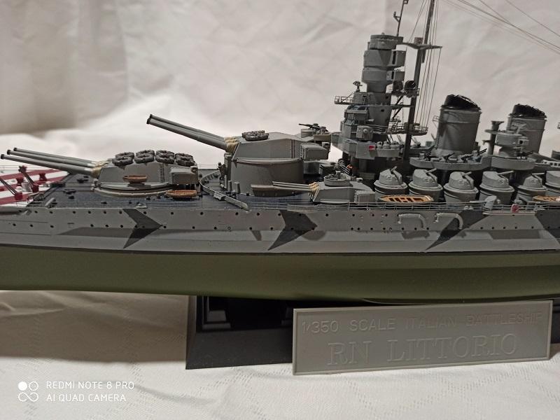 Regia Marina Littorio 1941 (Trumpeter 1/350°) de amoraga Img_2685