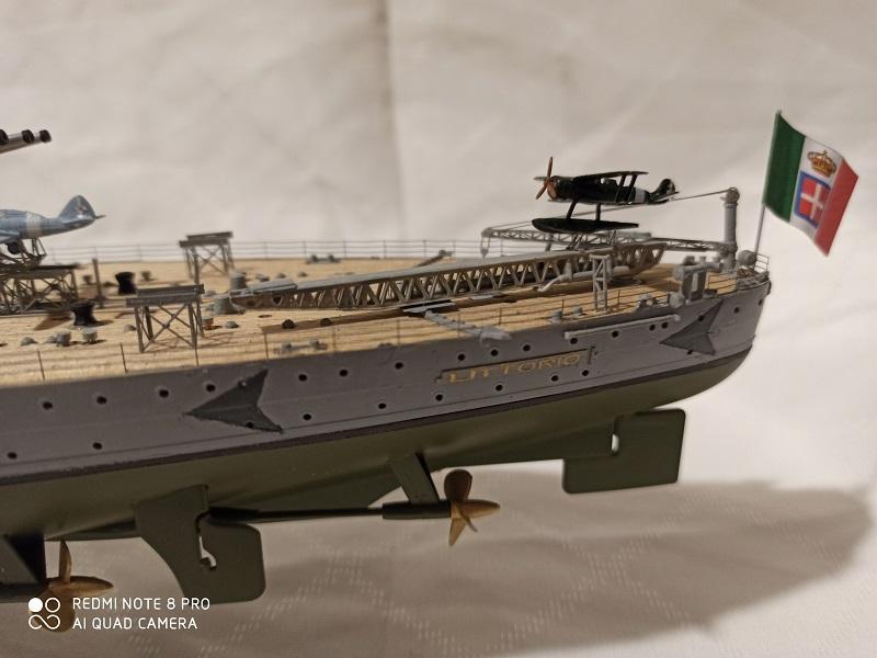 Regia Marina Littorio 1941 (Trumpeter 1/350°) de amoraga Img_2689