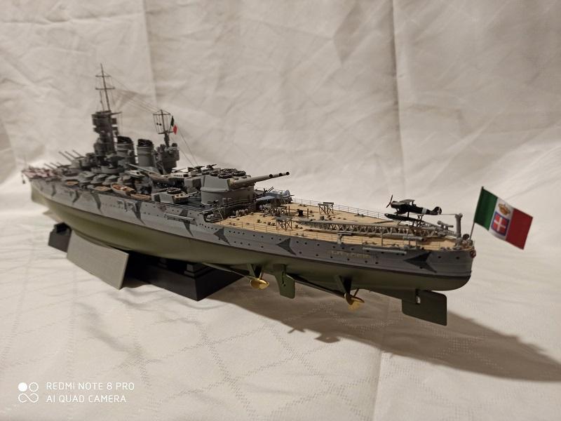 Regia Marina Littorio 1941 (Trumpeter 1/350°) de amoraga Img_2697