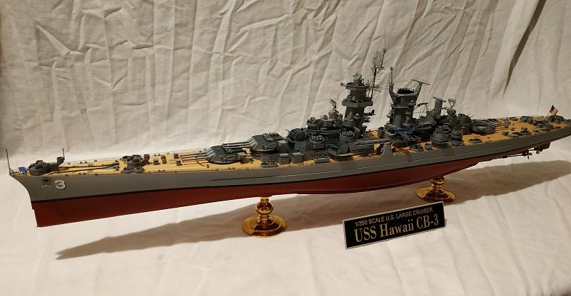 USS Hawaii CB-3 Battle Cruiser 1/350 Img_2707
