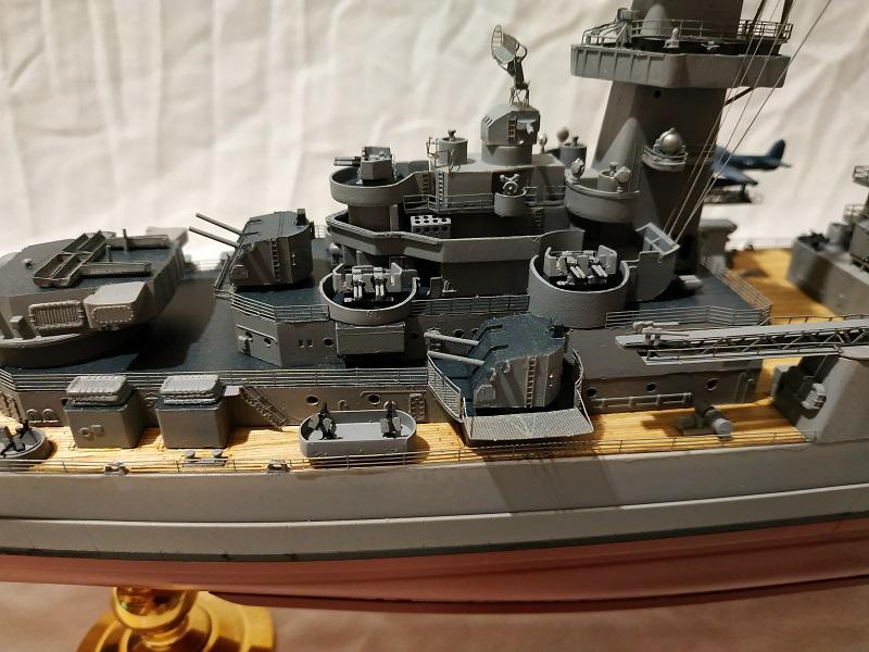 USS Hawaii CB-3 Battle Cruiser 1/350 Img_2710