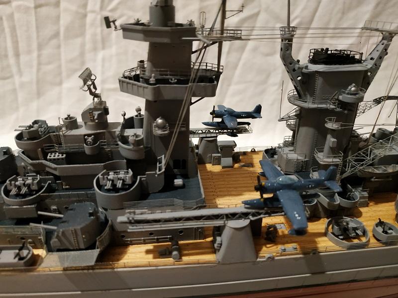 USS Hawaii CB-3 Battle Cruiser 1/350 Img_2711
