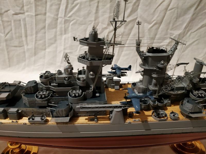 USS Hawaii CB-3 Battle Cruiser 1/350 Img_2712