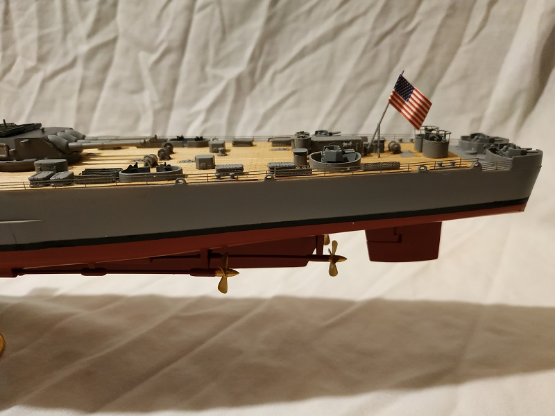 USS Hawaii CB-3 Battle Cruiser 1/350 Img_2716