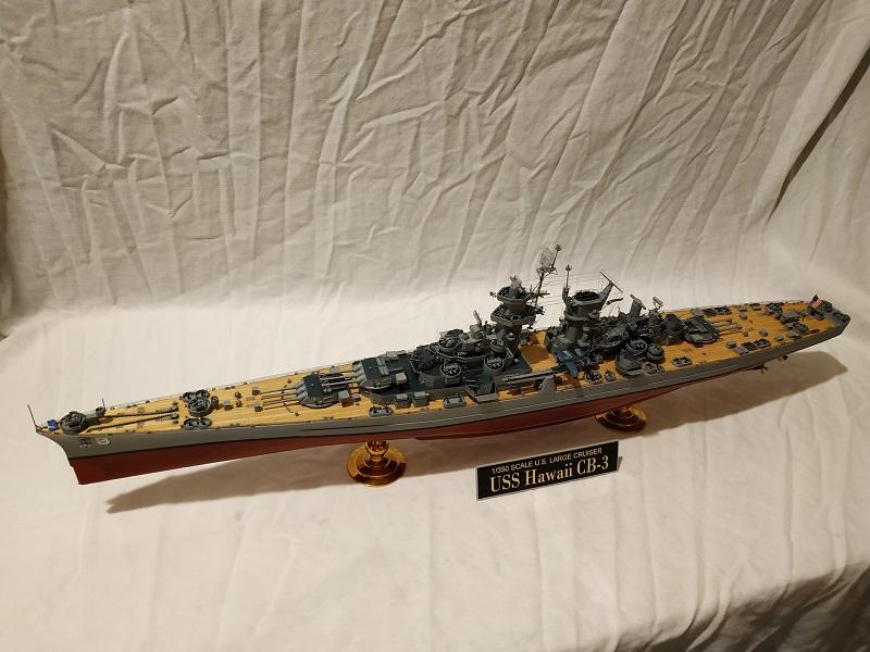 USS Hawaii CB-3 Battle Cruiser 1/350 Img_2718