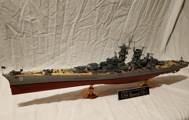 USS Hawaii CB-3 Battle Cruiser 1/350 Img_2719