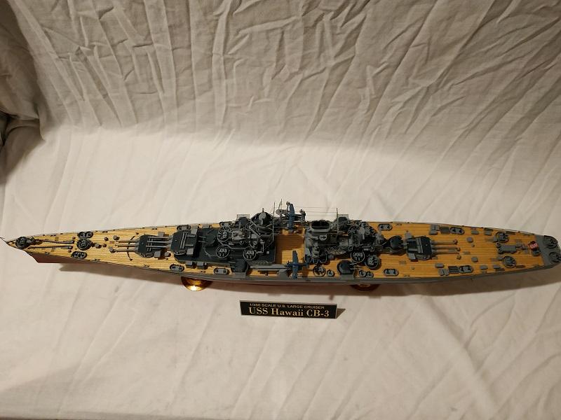 USS Hawaii CB-3 Battle Cruiser 1/350 Img_2722