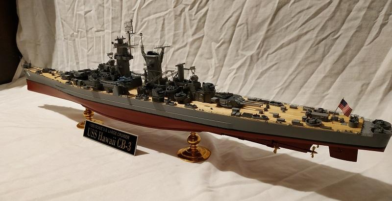 USS Hawaii CB-3 Battle Cruiser 1/350 Img_2723