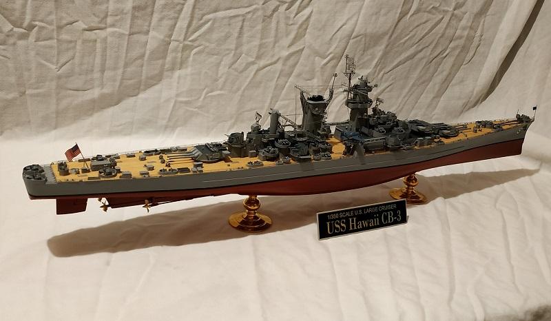 USS Hawaii CB-3 Battle Cruiser 1/350 Img_2726