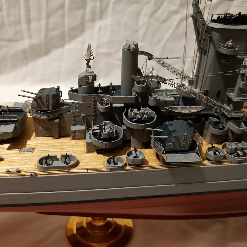 USS Hawaii CB-3 Battle Cruiser 1/350 Img_2729