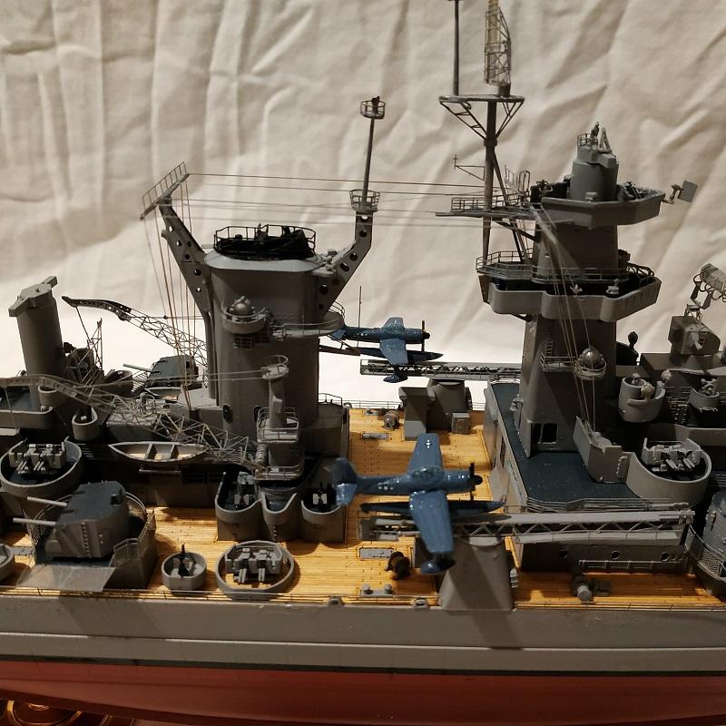 USS Hawaii CB-3 Battle Cruiser 1/350 Img_2730