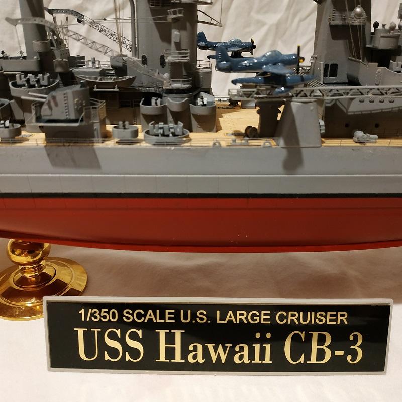 USS Hawaii CB-3 Battle Cruiser 1/350 Img_2740