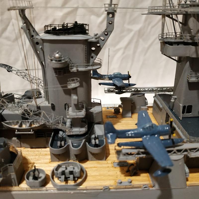 USS Hawaii CB-3 Battle Cruiser 1/350 Img_2741
