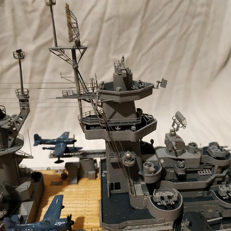 USS Hawaii CB-3 Battle Cruiser 1/350 Img_2742