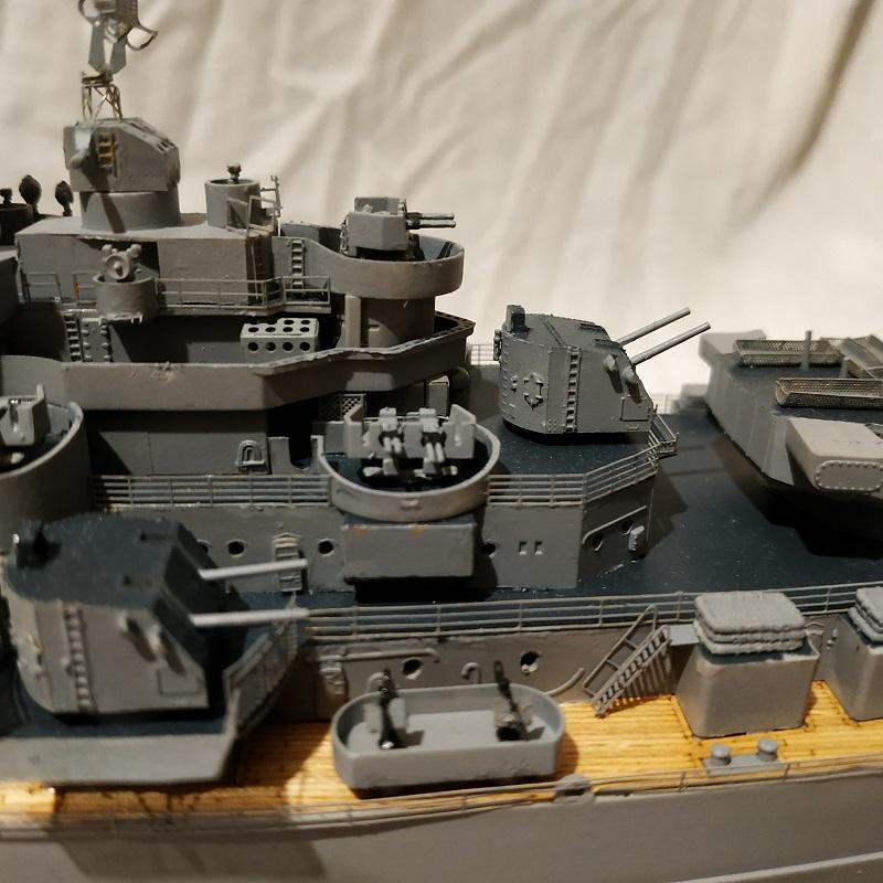 USS Hawaii CB-3 Battle Cruiser 1/350 Img_2743