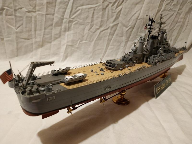 USS Salem CA-139 Heavy Cruiser 1/350 Img_2778