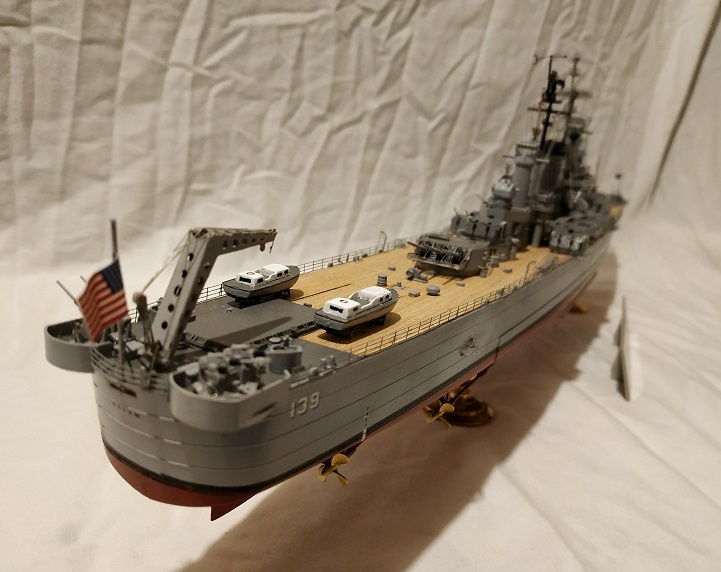 USS Salem CA-139 Heavy Cruiser 1/350 Img_2787