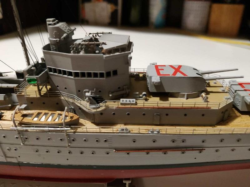 HMS Exeter a 1/350 de Trumpeter Part0010